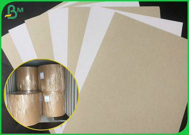 250GSM 300GSM Coated Duplex Board / Clay Coated One Side Paper Roll For Making Moon Cake Box