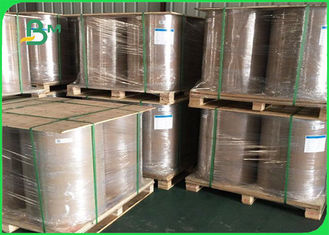 Good Breaking Resistance And High Stiffness 450g Clay Coated Duplex Paper In Roll