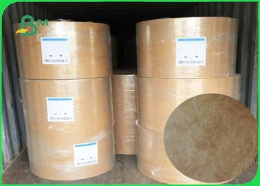68g / 73g /75g Tyvek Fabic Paper Brown Color For Make Clothing And Bedding Labels