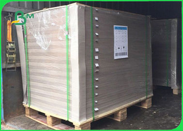 China Thinkness 2.4mm Grade AAA AA nondeformable Grey Chipboard For Packing Boxes supplier
