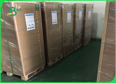 China 80gsm 100% Pure Wood Pulp Soft And Smooth Brown Kraft Paper For Packing supplier