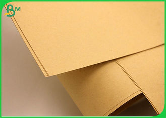 China SGS FSC Approved 80GSM Brown Kraft Liner Paper For Making Shopping Bags supplier