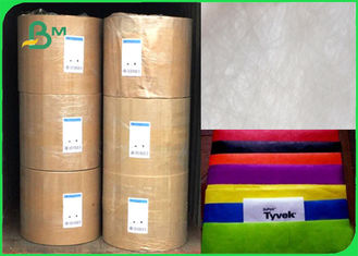 China 1025 To 1073D Dyeable Tear Resistant Made Of Fiber Tyvek Paper For Bag supplier