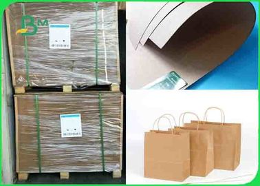 China 80GSM -300GSM Environmentally Friendly Tear Resistant Brown Kraft Paper In Roll supplier