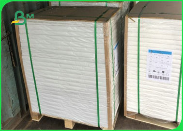 China Oil Proof PE Coated Paper / White Kraft Paper Coils For Food Wrapping supplier