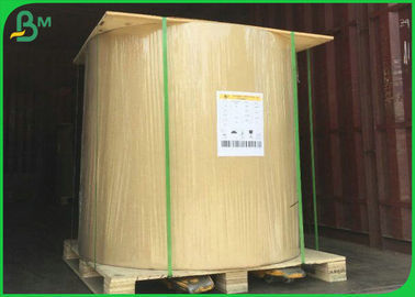 36'' x 50m 80gsm 100gsm 120gsm White Matte Coated Paper For Ink Printing