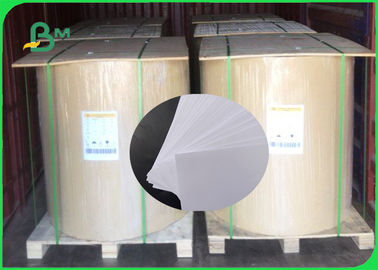 China Good Surface Smoothness 60gsm - 200gsm Uncoated Woodfree Paper In Roll supplier