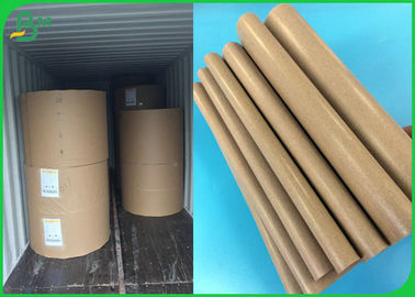Brown Color 50GSM PE Material Coated Paper For Wrapping The Coffee Cup Or Bread