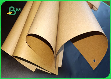 China 70 / 80 Gsm Moisture - Proof Good Printing Sack Kraft Brown Paper For Bags supplier