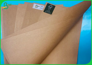 FSC MIX Sack Kraft Brown 70G 80G Sheet Food Grade Virgin Pulp 70*100CM