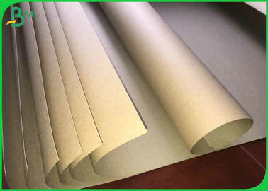 China 250gsm 300gsm 350gsm 61*86cm Hard Stiffness Brown Kraft Board For Packages supplier