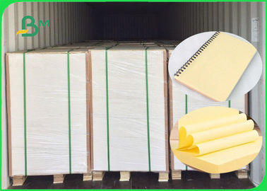 China 70GSM 80GSM Yellow Woodfree Paper / Bond Paper 100% Virgin Pulp FSC Certified supplier