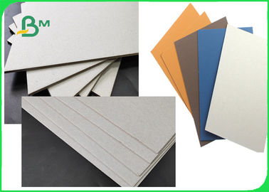 FSC SGS Approved Colorful Laminated Grey Board Grade AAA / AA With 1MM 1.28MM 2MM 3.2MM