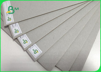 FSC 1MM - 2MM Smoothness Grey Chipboard Thickness Customized 70 * 100CM