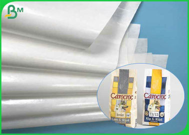Virgin Pulp 35gsm 40gsm+10gsm Food Grade One Side PE Coated Paper For Sugar Bags