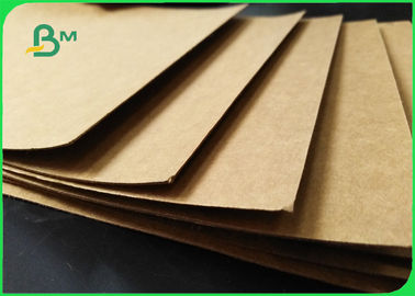 China FSC Unbleached Natural Brown Kraft Liner Board 350gsm 70 X 100cm In Sheet supplier