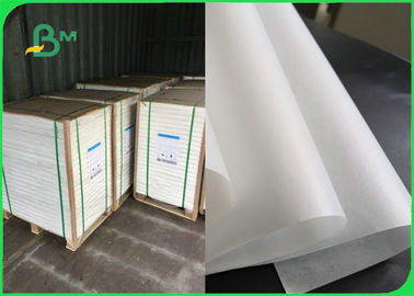 C1S White Paper 40gsm 50gsm For Sugar Package 1020mm Width 100% FDA Approved