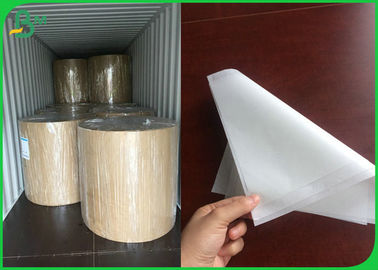China Foodgrade 40GSM Coated One Side White Paper With 1020mm For Wrapping Sugar supplier