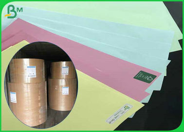 China 70*100cm 70gsm 80gsm Uncoated Woodfree Color Paper For Offset Printing supplier