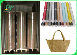 1082D Fiber Dupont Paper Colorful Water Proof Resistance To Tear For Bags
