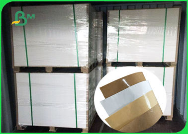 China 45 / 50gsm Hydrophobic Coating Food Grade MG Kraft Paper White Color For Packing supplier