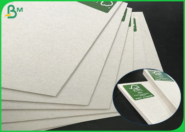 China 70*100cm Hard Stiffness 1.3mm 1.35mm 1.5mm Grey Carton Sheet For Packing Boxes supplier