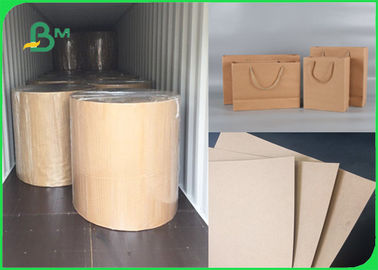 120gsm - 300gsm Recycle Pulp High Bursting Resistance FSC Carta Kraft For Bags