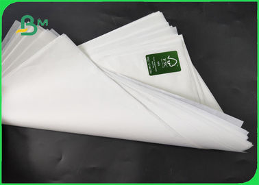 70g 80g White Color Craft Paper Rolls With FSC Certificed Virgin Pulp 100 / 70cm