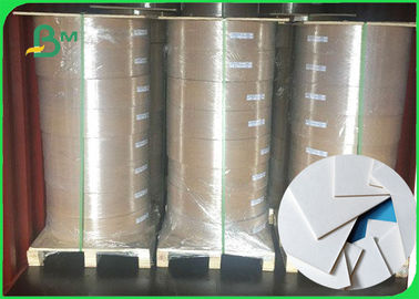 China Width 200mm Durable And High Water Absorbability White Coaster Paper In Roll supplier