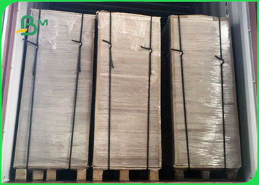 China Wide 75×105CM Good Rigidity Moisture Resistance 2.3mm Grey Chipboard In Sheet supplier
