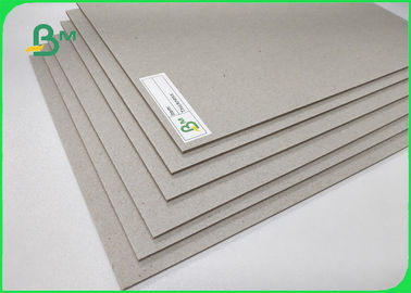 China 1500GSM Grey Board Made Of Recycled / Waste Paper Unpliant No Harm 2.4MM supplier
