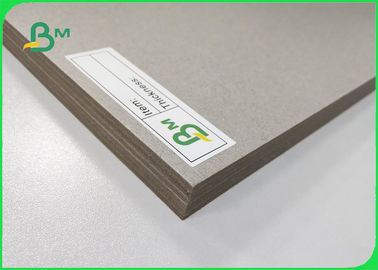 China 1.5mm 2.24mm Two Sides Grey Board / Cardboard A3 Size For Children Drawing supplier