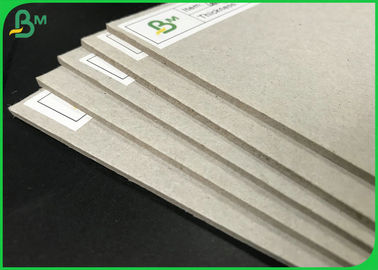 China 1.5mm 2.0mm 2.2mm 70*100cm High Stiffness Grey Chipboard For Packages Boxes supplier
