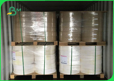 China 50gsm High Bursting Resistance Wood Pulp FDA Brown Kraft Paper For Paper Bags supplier