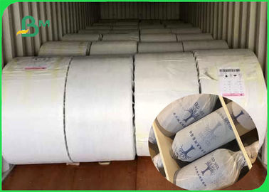 China Standard Roll Size 22 - 44mm Environmental FDA Cigarette Paper For Packing supplier