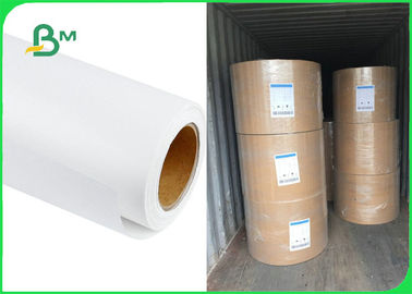 Food Grade Uncoated White Sack Kraft Paper For Package 35gsm 40gsm 50gsm