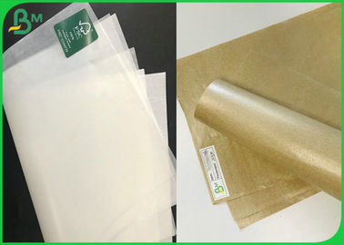 30gsm 40gsm 50gsm 60gsm C1S Brown And White MG PAPER For Fruit & Soap Wrapping