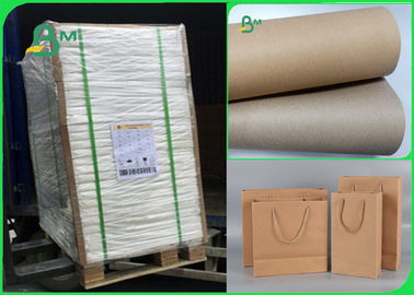 China Width 70×100cm Recycle Pulp 110gsm - 220gsm Kraft Liner Paper For Packing supplier