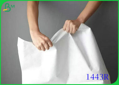 100% Fiber Waterproof 1443R Tyvek Paper Sheet With Customzied Size
