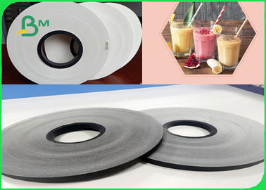 China Width 250cm Heatable Degradable 60gsm Black Color Straw Paper For Beverage supplier