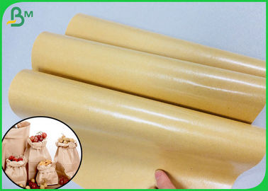 China PE Coated Food Packing Paper / PE Coated Brown Kraft Paper With FDA Certification supplier