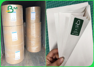 48gr Uncoated Paper Rolls Smooth Surface For Printing Newspaper And Fill Bags