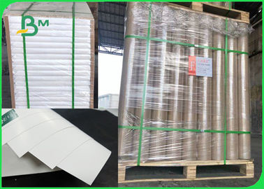 China 157gsm 230gsm High Bulk FBB / C1S White Cardboard Sheet For Packages supplier