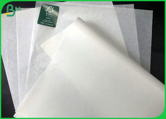 GC1 40 Gsm Grease Proof White Paper Roll 76 Cm Fried Food Packaging Paper