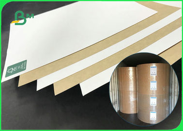 Hard Folding Resistance 250gsm 275gsm 300gsm Coated Kraft Board For Packing Box