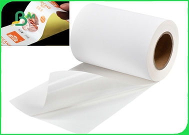 "Self - Adhesive 55GSM Thermal Sticker Paper For Bank Printer 4'' X 6"" Inch"