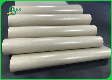 China Waterproof 70GSM 80GSM + 10g PE Coated Kraft Paper In Reel For Food Packages supplier