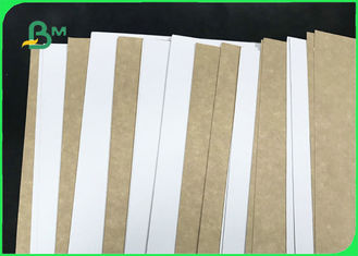 Hard Stiffness 250gsm - 365gsm Coated White Top Kraft Liner For Food Packages