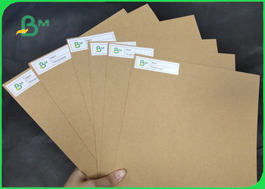 250 - 450gsm Unbleached Craft Board FDA Certified For Paper Tray