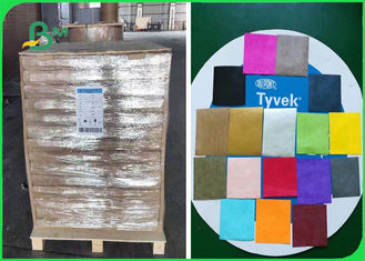 1073D Tyvek Printable Paper Brown Green Blue Red White Great Tear Resistance